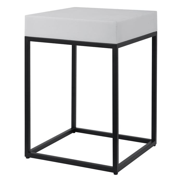 Uttermost 24936 Gambia Marble Accent Table