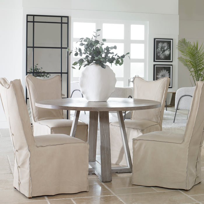 Uttermost 24952 Gidran Gray Dining Table