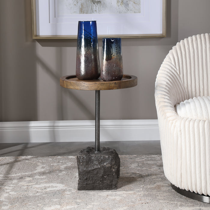 Uttermost 24992 Horton Rustic Accent Table