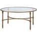 Uttermost 24338 Vitya Glass Coffee Table