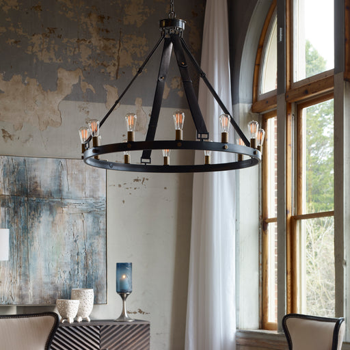 Uttermost 21280 Marlow 12 Light Circle Chandelier