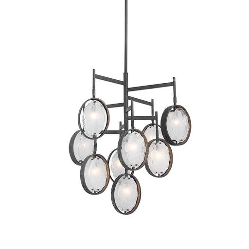 Uttermost 21317 Maxin Dark Bronze 9 Light Chandelier