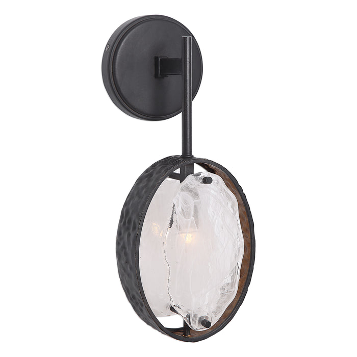 Uttermost 22517 Maxin Dark Bronze 1 Light Sconce