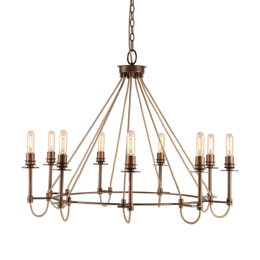 Uttermost 21321 Lyndhurst Industrial 9 Light Chandelier
