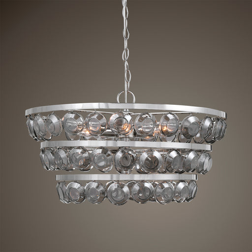 Uttermost 21532 Twinkle 5 Light Nickel Chandelier
