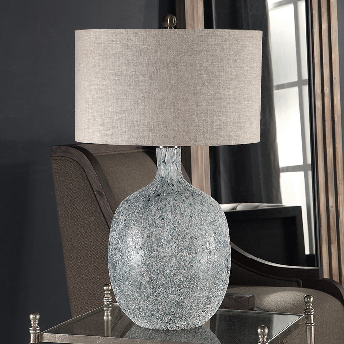 Uttermost 27879-1 Oceaonna Glass Table Lamp