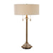 Uttermost 27832-1 Harlyn Antique Brass Lamp