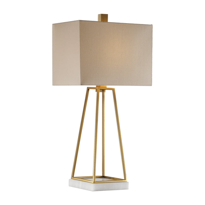 Uttermost 27876-1 Mackean Metallic Gold Lamp