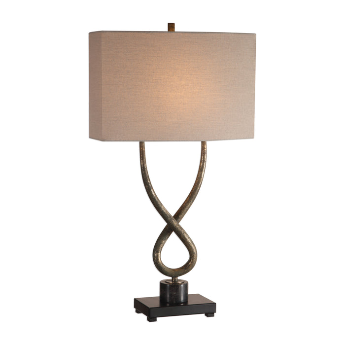 Uttermost 27811-1 Talema Aged Silver Lamp