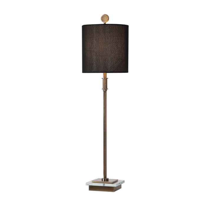 Uttermost 29684-1 Volante Antique Brass Table Lamp