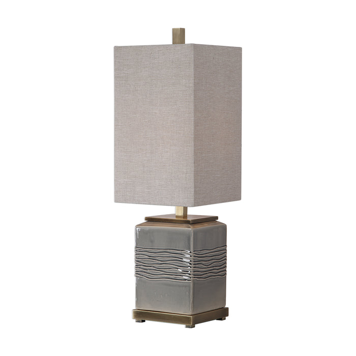 Uttermost 29680-1 Covey Gray Glaze Buffet Lamp