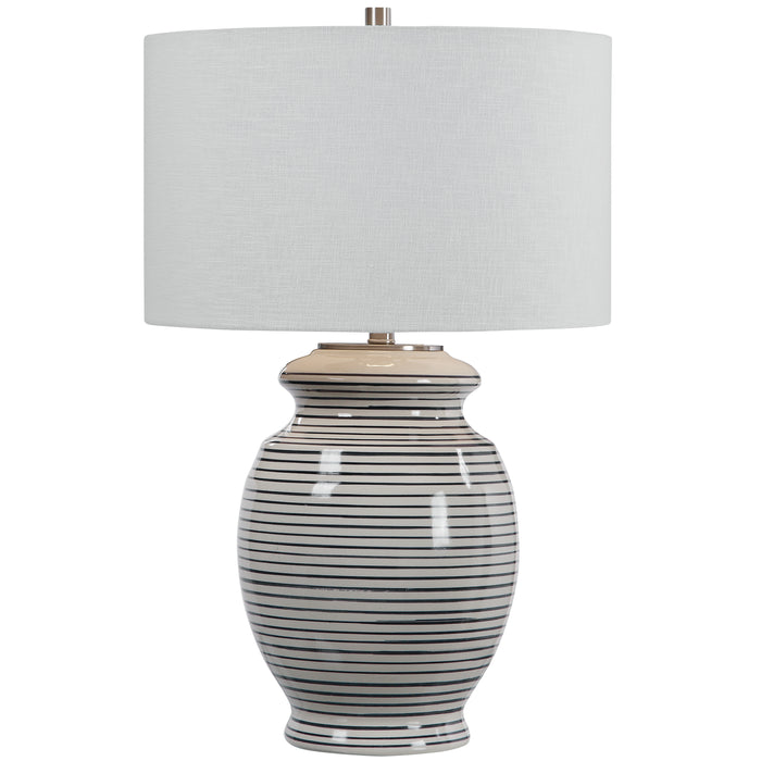 Uttermost 26383-1 Marisa Off White Table Lamp