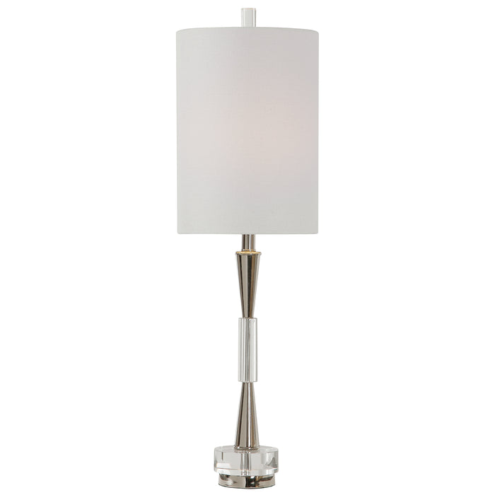 Uttermost 29734-1 Azaria Polished Nickel Buffet Lamp