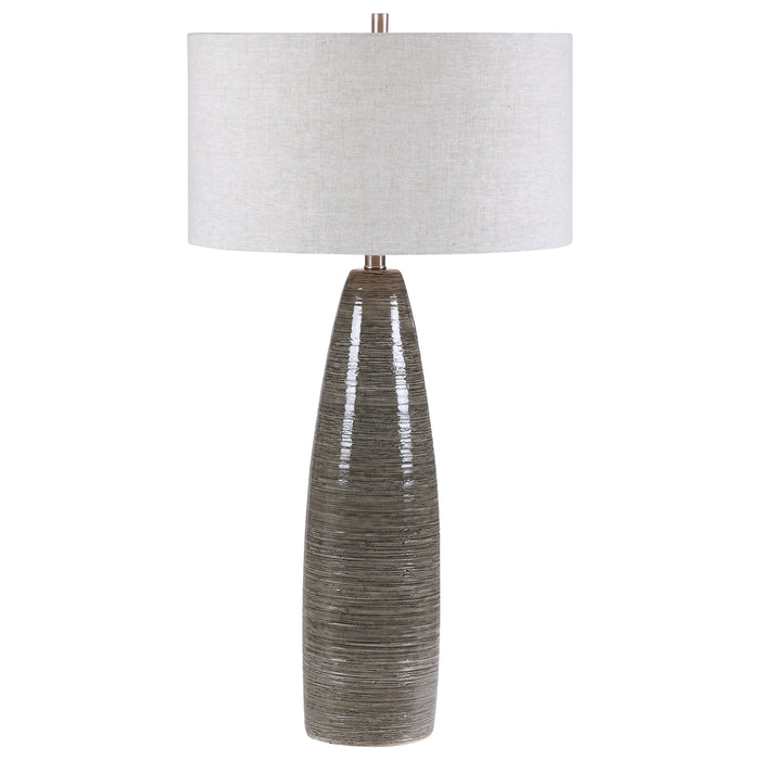 Uttermost 28280 Cosmo Charcoal Table Lamp