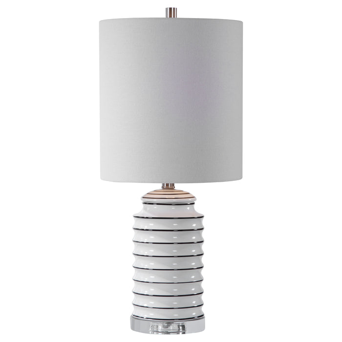 Uttermost 28338-1 Rayas White Table Lamp