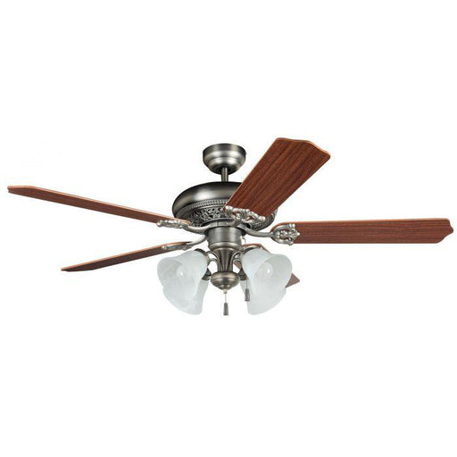 "Craftmade MAN52AN5C4 Manor Antique Nickel 52"" Ceiling Fan"
