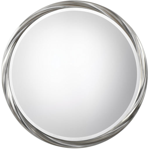 Uttermost 9278 Orion Silver Round Mirror