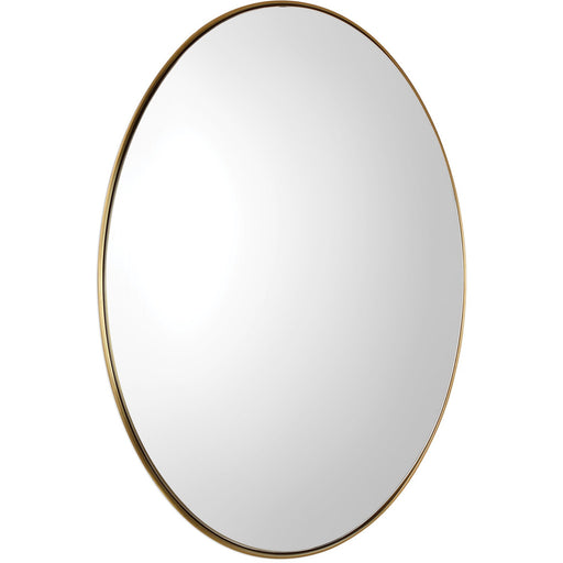 Uttermost 9353 Pursley Brass Oval Mirror