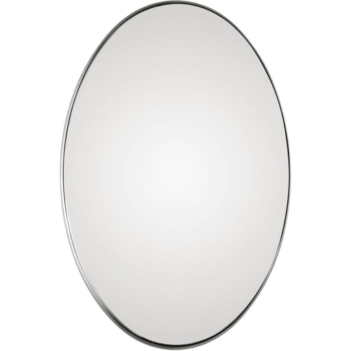 Uttermost 9354 Pursley Brushed Nickel Oval Mirror