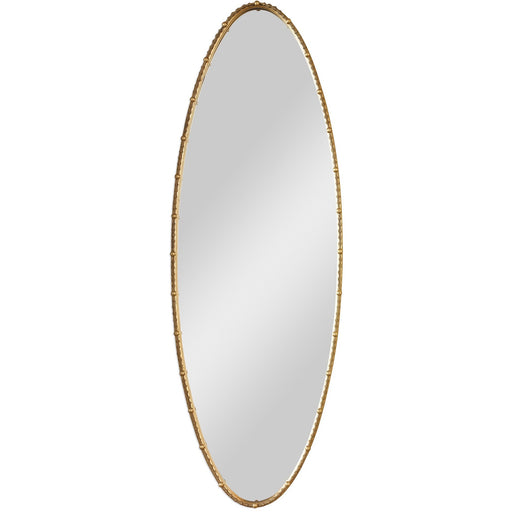 Uttermost 9402 Hadea Gold Oval Mirror