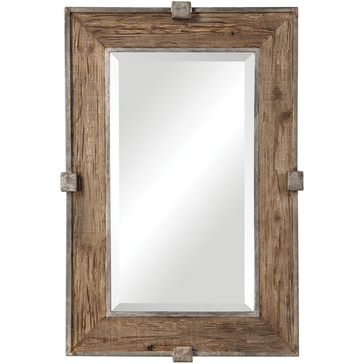 Uttermost 9433 Siringo Weathered Wood Mirror