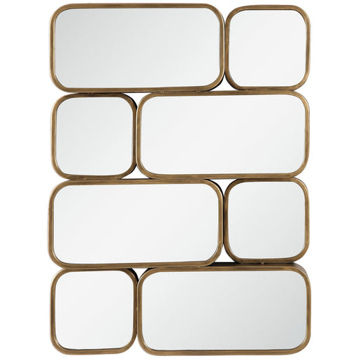 Uttermost 9437 Canute Modern Gold Mirror