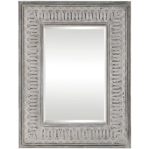 Uttermost 9455 Argenton Aged Gray Rectangle Mirror