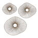 Uttermost 04182 Avarie Gold Metal Wall Art Set of 3
