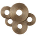 Uttermost 04201 Ahmet Gold Rings Wall Decor