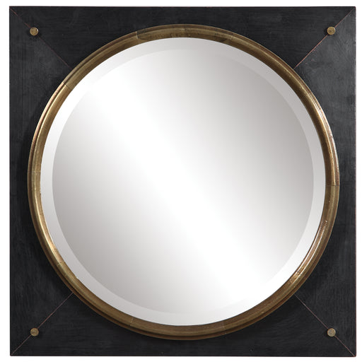Uttermost 09560 Tobiah Modern Square Mirror