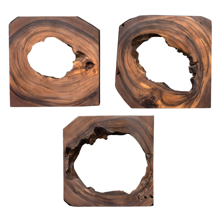 Uttermost 04207 Adlai Wood Wall Art Set of 6