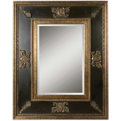 Uttermost 11173 B Cadence Antique Gold Mirror