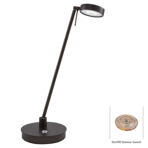 George Kovacs P4306-647 George's Reading Room Copper Bronze Patina LED Table Lamp