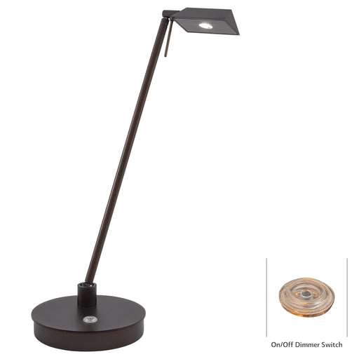 George Kovacs P4316-647 George's Reading Room Copper Bronze Patina LED Table Lamp