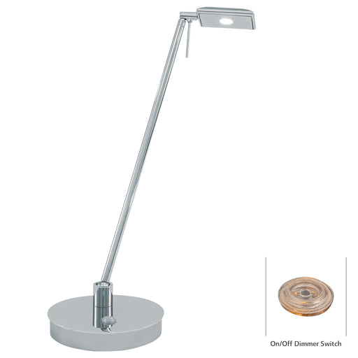 George Kovacs P4326-077 George's Reading Room Chrome LED Table Lamp