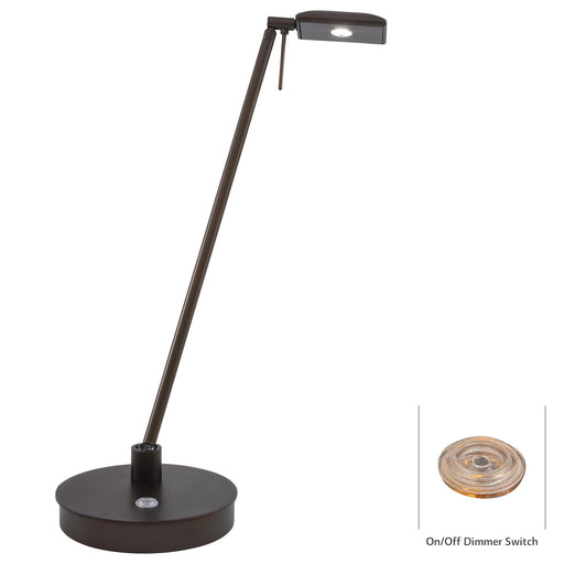 George Kovacs P4326-647 George's Reading Room Copper Bronze Patina LED Table Lamp