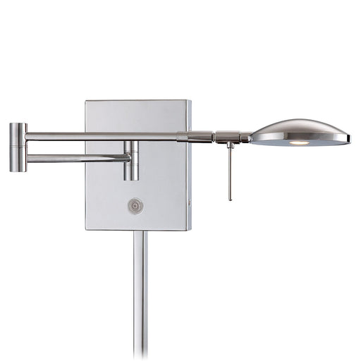 George Kovacs P4338-077 George's Reading Room Chrome LED Swing Arm Wall Lamp