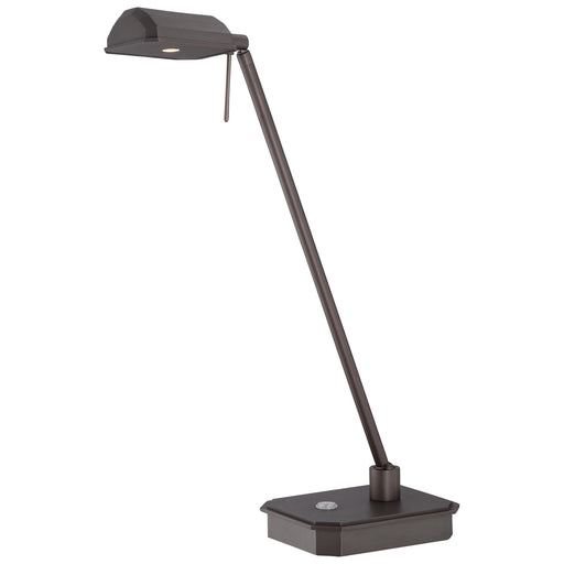 George Kovacs P4346-647 George's Reading Room Copper Bronze Patina LED Table Lamp