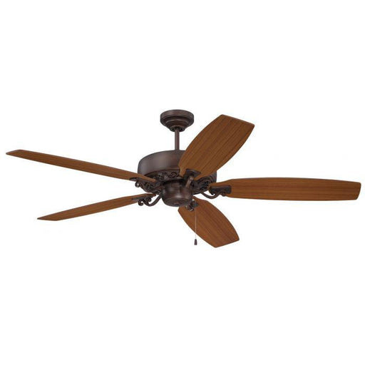 "Craftmade PAT64ABZC5 Patterson Aged Bronze Highlight 64"" Ceiling Fan"