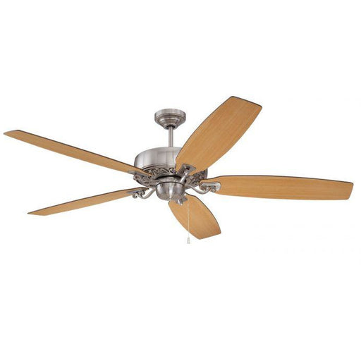 "Craftmade PAT64BNK5 Patterson Brushed Polished Nickel 64"" Ceiling Fan"