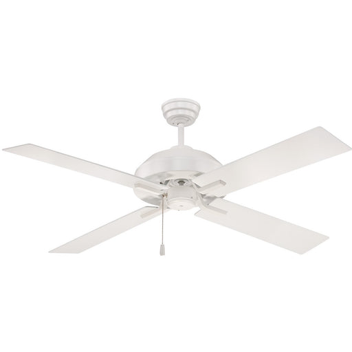 "Craftmade SB52W4 South Beach White 52"" Outdoor Ceiling Fan"