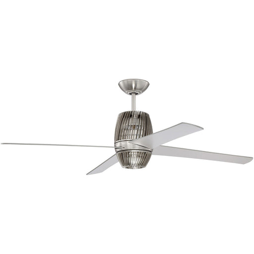 "Craftmade TOR52BNK4 Torbeau Brushed Polished Nickel 52"" Ceiling Fan"