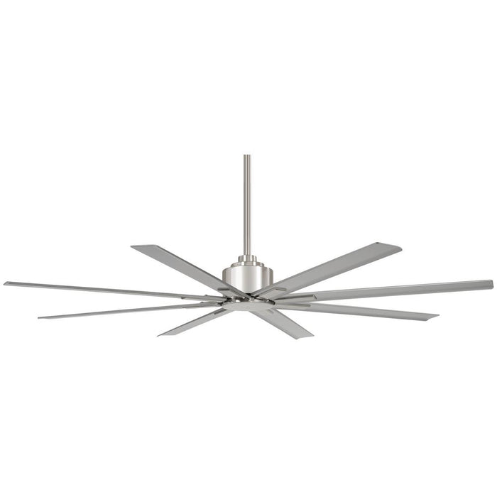 Minka Aire Xtreme H2O 65 in. Indoor/Outdoor Brushed Nickel Wet Ceiling Fan