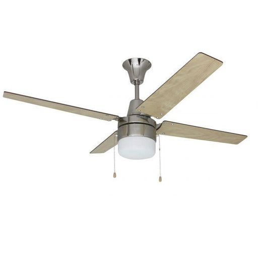 "Craftmade CON48BNK4C1 Connery Brushed Polished Nickel 48"" Ceiling Fan"