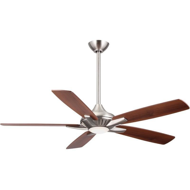 "Minka Aire F1000-BN Dyno Brushed Nickel 52"" Ceiling Fan with Remote Control - ALCOVE LIGHTING"