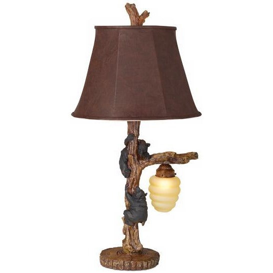 Pacific Coast 87-1916-21 Honey Bear Table Lamp - ALCOVE LIGHTING