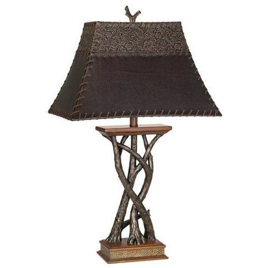 Pacific Coast 87-6188-9G Montana Reflections Table Lamp - ALCOVE LIGHTING