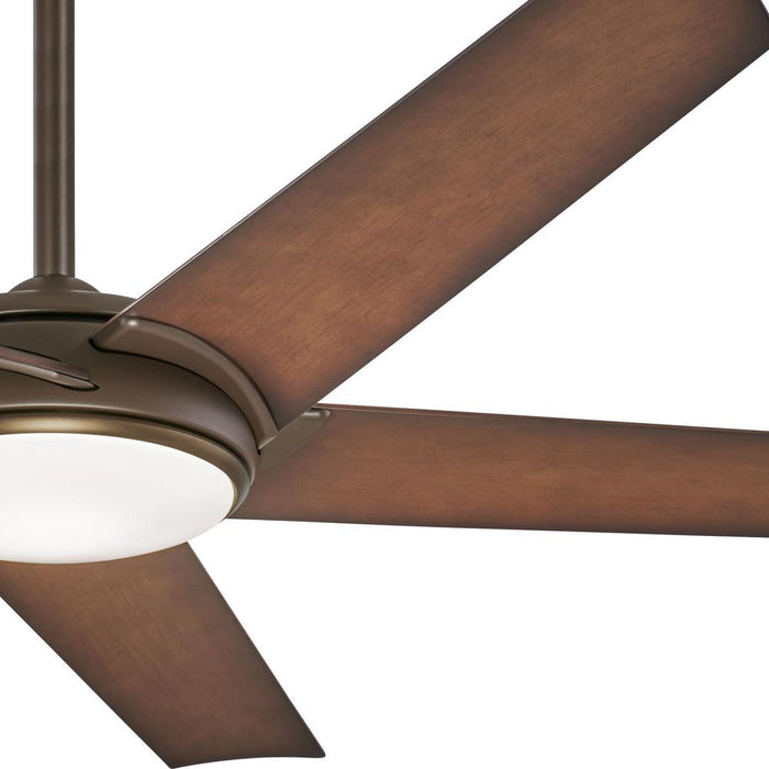 Minka Aire Raptor 60 in. LED Indoor Oil Rubbed Bronze Ceiling Fan with Remote