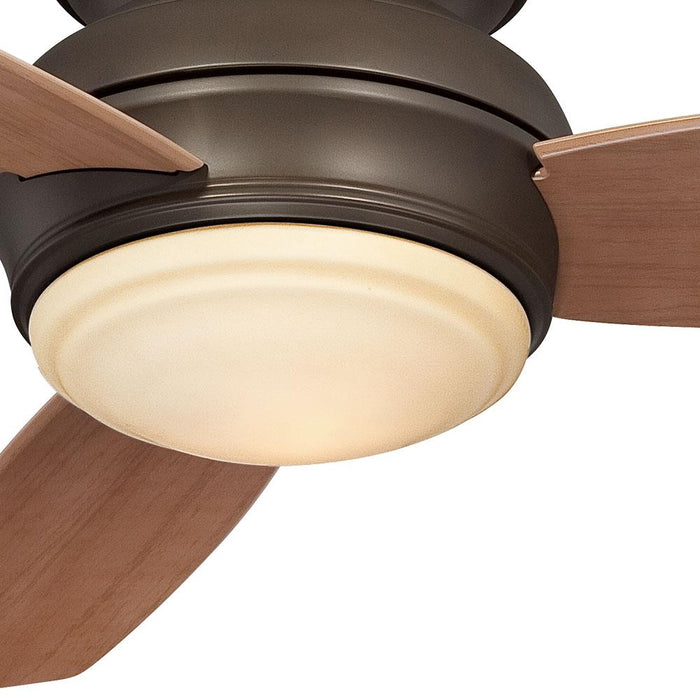 Minka Aire Traditional Concept 44 in. LED Indoor/Outdoor Bronze Ceiling Fan