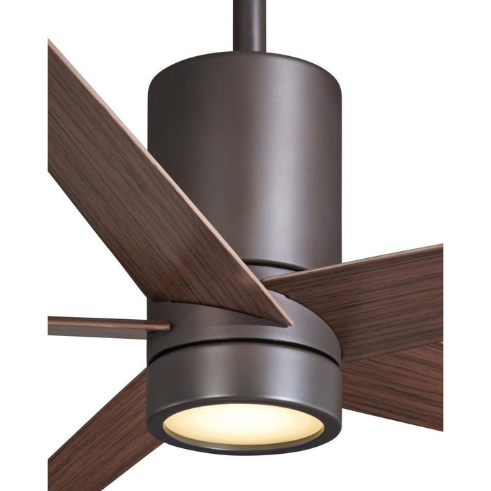 Minka Aire Symbio 56 in. LED Indoor Oil Rubbed Bronze Ceiling Fan with Remote
